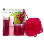 Smart Spa by Qtica Smart Spa Pomegranate Lime Home Spa Kit