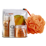 Smart Spa by Qtica Smart Spa Exotic Mango Home Spa Kit