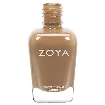 ZOYA #ZP693 FLYNN camel brown nail polish lacquer