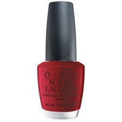 OPI Nail Lacquer- Got The Blues For Red