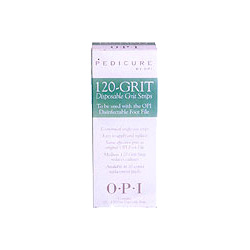 OPI Pedicure 120 Grit Disposable Strips