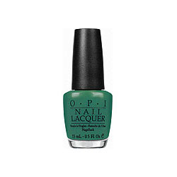 OPI Nail Lacquer - Jade is the New Black #H45