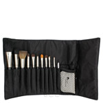 gloProfessional gloMinerals Brush Roll Bag
