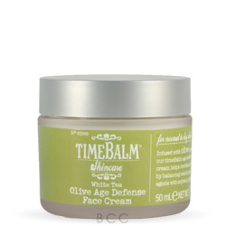 theBalm TimeBalm White Tea Olive Age Defense Face Cream - for Normal to Dry skin