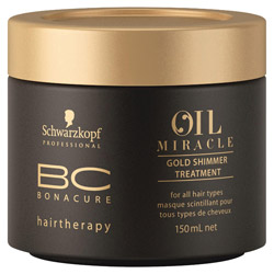 BC Bonacure BC Bonacure Oil Potion Gold Shimmer Treatment