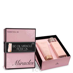 BC Bonacure BC Bonacure Oil Miracle Rose Oil Gift Set  *Limited Edition*