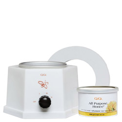 GiGi 14oz All Purpose Honee Pot Wax Warmer 1 kit