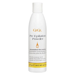 GiGi Pre Epilation Dusting Powder 4.5 oz