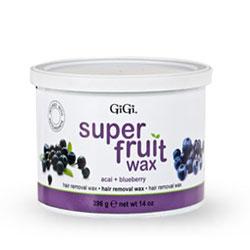GiGi Super Fruit Wax with Acai + Blueberry 14 oz