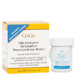 GiGi Microwave Sensitive Tweezeless Wax 1 oz