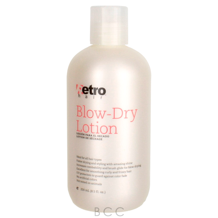 Retrohair Blow Dry Lotion 8 5 Oz Beauty Care Choices