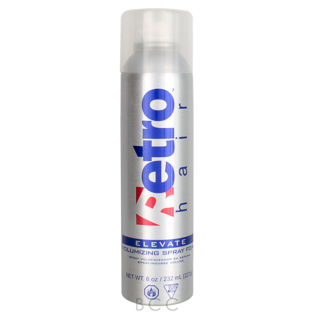 Retrohair Elevate Volumizing Spray Foam 8 Oz Beauty Care Choices