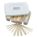 Satin Smooth Wood Wax Applicators with Tray