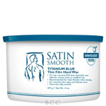 Satin Smooth Titanium Blue Wax for Men