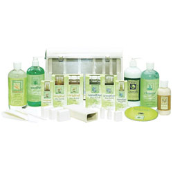 Clean+Easy Full Service Waxing Spa Kit