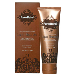 Fake Bake Lipo Bronze - Self-Tan Lotion with Anti-Cellulite