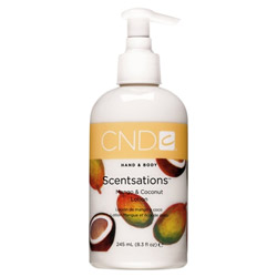 CND Scentsations Mango & Coconut Body Lotion