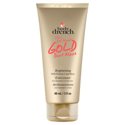 Body Drench The Gold Dust Mask - Skin Brightening Peel Off Mask 3 oz