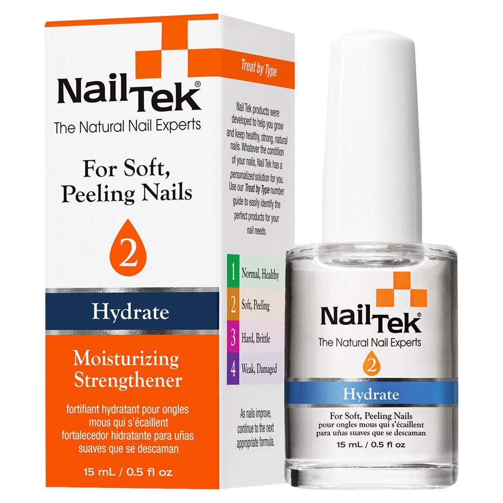 Nail Tek Hydrate 2 Moisturizing Strengthener - For Soft