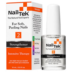 Nail Tek Strengthener 2 Intensive Therapy - For Soft, Peeling Nails