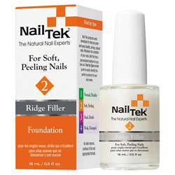 Nail Tek Foundation II Ridge-Filling Strengthener Base Coat