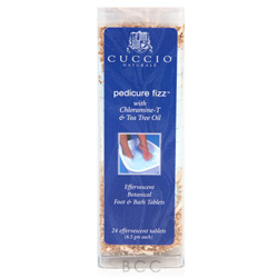 Cuccio Naturale Pedicure Fizz with Chloramine-T & Tea Tree Oil