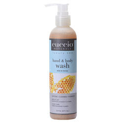 Cuccio Naturale Milk & Honey Hydrating Hand and Body Wash
