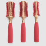 The Monroe Brush Lady in Red