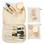 Jane Iredale Quilted Cream Makeup Bag