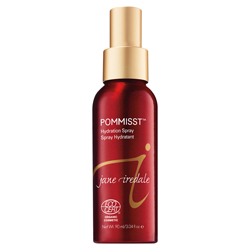 Jane Iredale Pommisst Hydration Spray 3.04 oz Antioxidant rich setting spray with pomegranate and white tea extracts. This is no ordinary facial spritz! Using ingredients such as pomegranate extract, white tea extract and seaweed extracts, Jane Iredale Pommisst Hydration Therapy will protect and quench all thirsty skins. The fragrance is so fresh and clean, you almost can't stop smelling it.