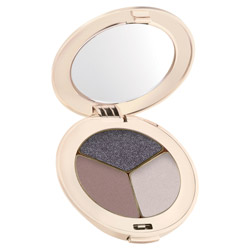 Jane Iredale PurePressed Eye Shadow Trio Sundown Change your look from soft and elegant to edgy and sleek. These silky shadows are highly pigmented and long-lasting. They easily blend on the lids to create any look.
