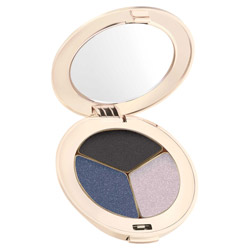 Jane Iredale PurePressed Eye Shadow Trio  Blue Hour Change your look from soft and elegant to edgy and sleek. These silky shadows are highly pigmented and long-lasting. They easily blend on the lids to create any look.