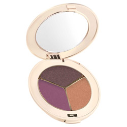 Jane Iredale PurePressed Eye Shadow Trio  Ravishing Change your look from soft and elegant to edgy and sleek. These silky shadows are highly pigmented and long-lasting. They easily blend on the lids to create any look.