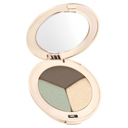 Jane Iredale PurePressed Eye Shadow Trio  Harmony Change your look from soft and elegant to edgy and sleek. These silky shadows are highly pigmented and long-lasting. They easily blend on the lids to create any look.