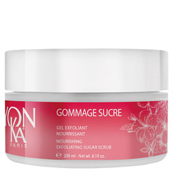 Yon-Ka Aroma Fusion Gommage Sucre Nourishing Exfoliating Sugar Scrub Jasmine Relax Get pure indulgence with the Aroma Fusion Gommage Sucre Nourishing Exfoliating Sugar Scrub. A sugar scrub made up of two sugars that turn into milk when in contact with water. Gently exfoliates the skin to leave it soft and refined with a subtle floral fragrance.