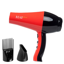 HAI Performance Infra-Ionic Hair Dryer Red
