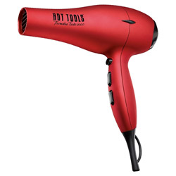 Hot Tools Tourmaline Tools 2000 Turbo Ionic Dryer Red Blow dry your hair and defy frizz with the Tourmaline Tools 2000 Turbo Ionic Dryer. Helps to create beautiful blow-outs and dries hair twice as fast. Has a removable filter and comes with a pik and concentrator.