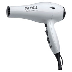 Hot Tools Tourmaline Tools 2000 Turbo Ionic Dryer White Blow dry your hair and defy frizz with the Tourmaline Tools 2000 Turbo Ionic Dryer. Helps to create beautiful blow-outs and dries hair twice as fast. Has a removable filter and comes with a pik and concentrator.