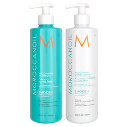 Moroccanoil Smoothing Shampoo/Conditioner Set  *Limited Edition*