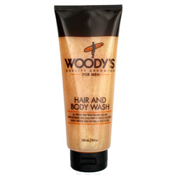 Woodys Hair & Body Wash 10 oz