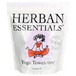 Herban Essentials Yoga Towelettes