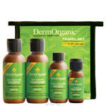 DermOrganic Hair Care Travel Set
