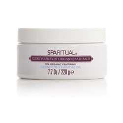 SpaRitual Close Your Eyes Organic Bath Salts