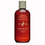Simply Organic Moisture Rich Hair and Scalp Wash