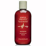 Simply Organic Refresh Hair and Scalp Wash