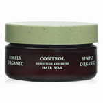 Simply Organic Control Definition and Shine Hair Wax