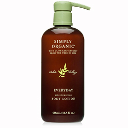 Simply Organic Everyday Moisturizing Body Lotion