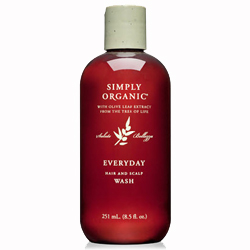 Simply Organic Everyday Hair and Scalp Wash