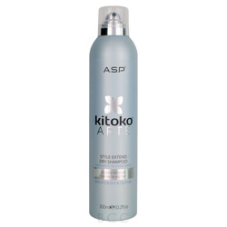 Kitoko ARTE Style Extend Dry Shampoo 10.2 oz This thermo protection spray shields hair from damage from straighteners, dryers & curling tongs. The formula forms an invisible barrier that can be layered with other styling products. Contains Fire Tulip, Karite, Green Tea & Vitamins A & E.