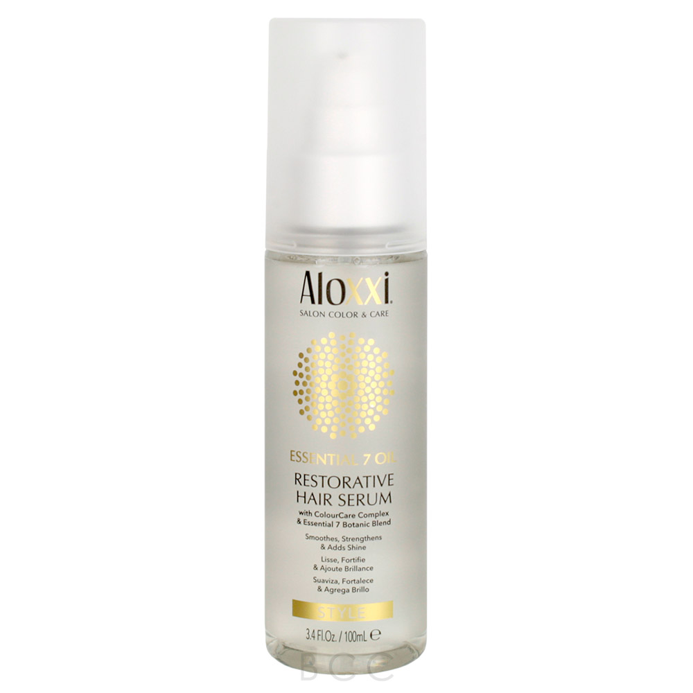 Aloxxi Essential 7 Restorative Hair Serum Beauty Care Choices